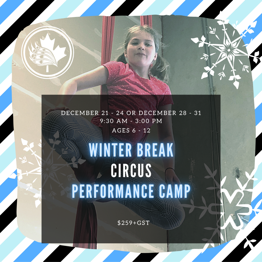 Winter camp poster